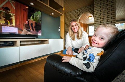 Roar Fagermo og Lisa Ditlefsen fikk sønnen Joel som har Downs syndrom.