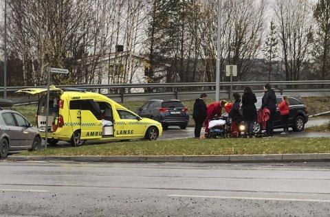 Sykkeldag ved Brumunddal ungdomsskole endte med knall og fall.