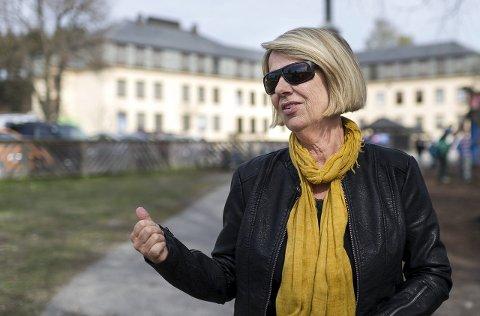 Mette Wergeland, SU-leder, er positiv til å utvikle Hønefoss skole og beholde sentrumsskolen.