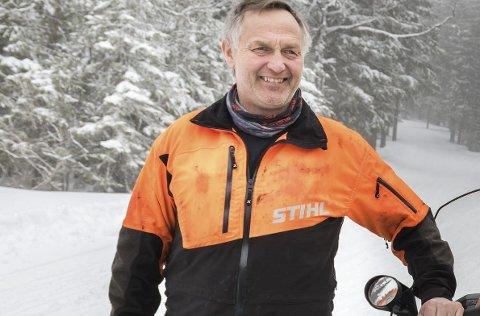 Skisesongen er straks over, bekrefter løypebas Rolf Storbråten.