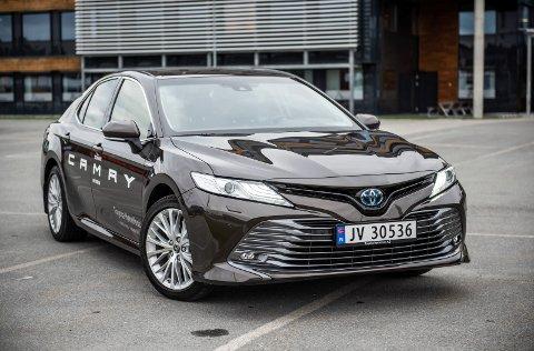 Pen: Vi synes Toyota har lyktes i med utseende på den nye Camry.