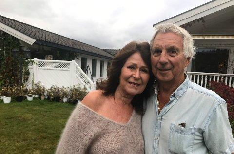 AVSLUTTER KAPITTEL: Siv Gøril og Jan Arnfinn Arnesen selger boligen sin i Almebakken. Prisantydningen er 7,1 millioner kroner.