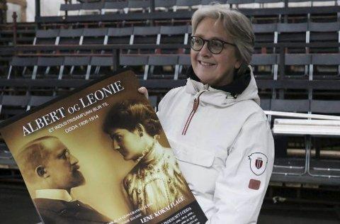Gunn Gravdal Elton står bak musikalen «Albert og Leonie», som har premiere er 6. april. foto: Inga øygard jaastad