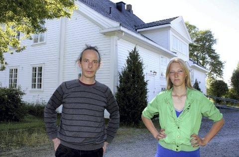 IKKE HER: Thomas B. Døderlein og Nina Marie Nygaard får ikke benytte Lillerommen.Foto: Per Stokkebryn