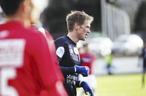 SCORET: Magnus Solum sto for kampens eneste mål mellom Strømmen og Kongsvinger.