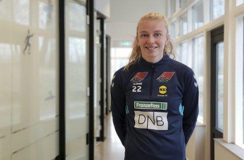 Skrev ettårskontrakt: Ina Gausdal skrev fredag under på kontrakt med LSK Kvinner. Foto: Anja Sønstevold
