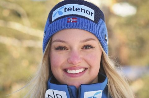 DOBBEL SEIERSPALL: Thea Louise Stjernesund har kjørt inn til en 1. plass og en 3. plass i storslalåm denne uka også.