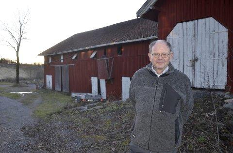 REAGERTE: I februar skrev RHA om Olav Holdhus og låven hans som var foreslått revet.Arkivfoto