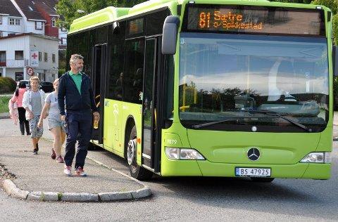 RUTER: Busstilbudet for de som bor i Hyggen blir betraktelig bedre fra sommeren.