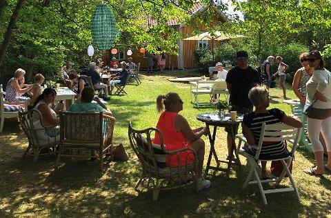 MALERISK: Hagefestivalen på Holmen er i ferd med å bli en tradisjon.