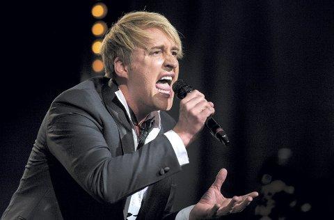 Kjempestart: Lars Hansens sterke framføring av «Solitaire» gjorde at han gikk videre i TV2s «Norske Talenter». FOTO: TV 2
