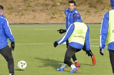 Ingen debut: Enric Vallès Prat, SFs nye spanjol, skulle opprinnelig debutert for SF mot FFK. Slik gikk det ikke. Foto: Sigurd Øie