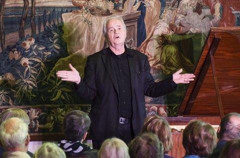 Stor Formidler: Ketil Bjørnstad kjenner kunsten å formidle, både oralt og musikalsk. Foto: Flemming Hofmann Tveitan