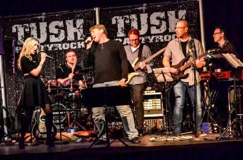 FESTROCK: For de fleste er  Sandra Huseklepp kjent som en av vokalistene i bandet Tush.