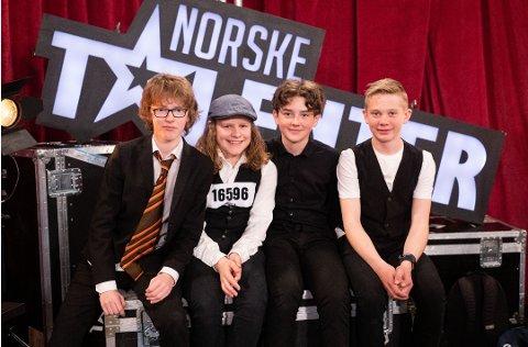 Bildet er tatt fra første runde av Norske Talenter.