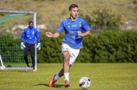 Ikke kontrakt: Badr Rahhaoui får ikke proffkontrakt i Sarpsborg 08. Foto: Thomas Andersen