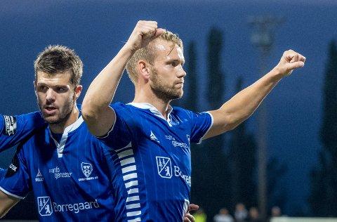 Begge SKadet: Ole Jørgen Halvorsen  og Joachim Thomassen er begge borte mot Molde. Foto: Thomas Andersen