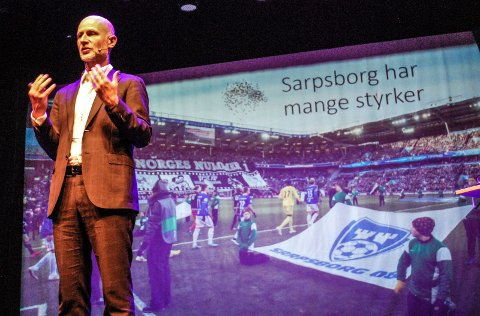 SKRYTER AV SARPSBORG: Juryleder for «Attraktiv by» Erling Dokk Holm mener Sarpsborg har mange bra kvaliteter.