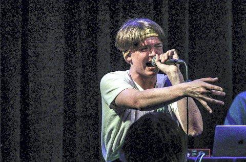 Vant i fjor: Rapperen Adrian «Pearly» Toftner Kølbæk var blant dem som fikk Drømmestipendet i fjor.Foto: John Johansen