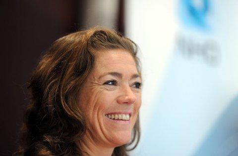 NHO-sjef Kristin Skogen Lund vil ha økte forskjeller.