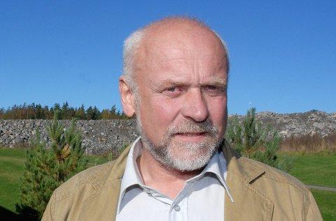 Tidligere Eidsberg-ordfører Knut J. Herland er leder av Senterpartiets forhandlingsutvalg. Foto: Arkivfoto