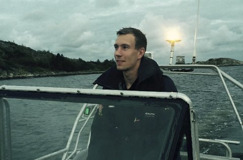 Politibetjent: Øystein Lavik Nordby er politi tilhørende Fredrikstad politistasjon