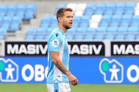 NY MANN: Sogndal har henta midtstopparen Tord Salte (22) på lån frå Viking.