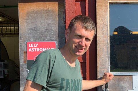 OPTIMIST: Rolf Magne Haukalid ser lyst på utsiktene til å flytta Forsand frå Sandnes til Strand.