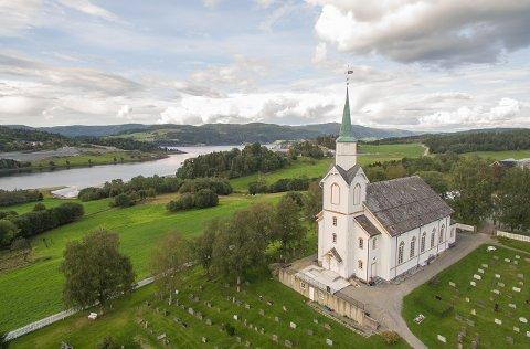 Arkivbilde av Beitstad kirke - 2017.