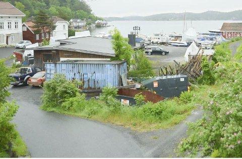 NY RUNDE: Båthallsaken ved Slippen marina på Sandåsen må behandles på nytt i bygningsrådet.