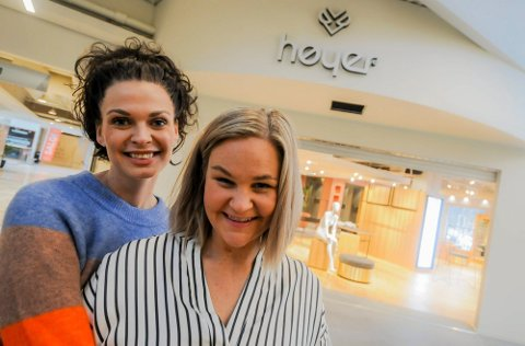 KONKURS: - Det er med stor sorg Tone Mercedes Bøckman og Mari Aastad melder oppbud av dereshjertebarn, Høyer på Arkaden.