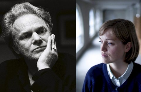 Krimkveld: Amalie Kasin Lerstang valgte seg Torgrim Eggen for å snakke om true crime-bølgen innen litteraturen.