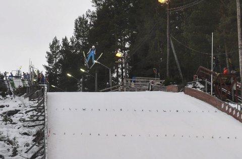 Ikke fornøyd: Sander Bjørndalen var ikke fornøyd med egen innsats søndag, og ser nå fram mot Junior NM i Oslo neste helg.