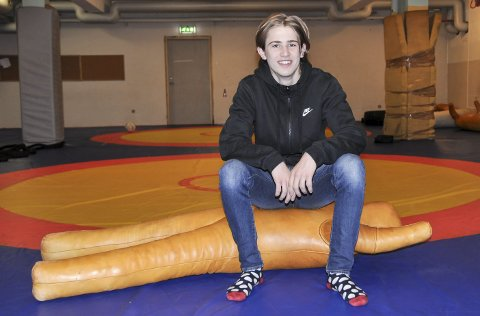 Trent hardt: Sondre Svarstad har trent hardt frem mot mesterskapet, og føler seg klar.