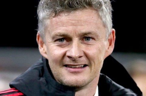 Ole Gunnar Solskjær leder United mot Arsenal fredag.