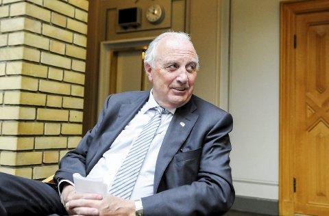 PENGESTERK: Svein Flåtten (H) fra Sandefjord er den rikeste rikspolitikeren Vestfold har.