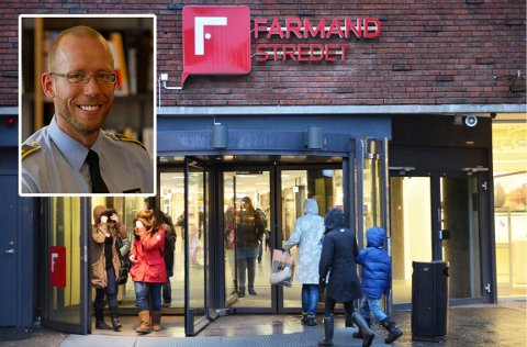 Ekspert på strafferett og politiadvokat i Oslo politidistrikt, Kai Spurkland, sier Farmandstredet har rett til å utestenge personer som ikke følger reglene.
