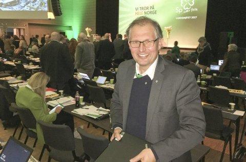 PAUSE: Terje Riis-Johansen fikk med seg fylketingsutvalget på å stanse arbeidet med Bypakke Tønsberg-regionen.