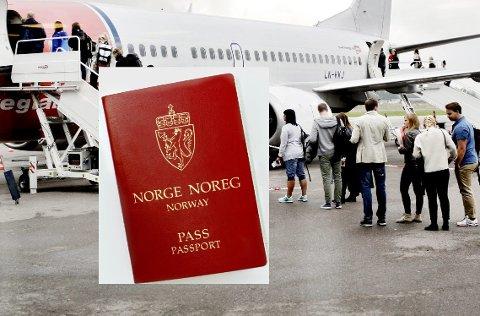 GYLDIG? Ta en titt i passet ditt og innreisereglene til landet du skal besøke samtidig som du bestiller reisen.