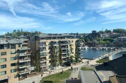 PRISPRESS: Tønsberg og Færder hadde den sterkeste prisstigningen på bolig i mai.