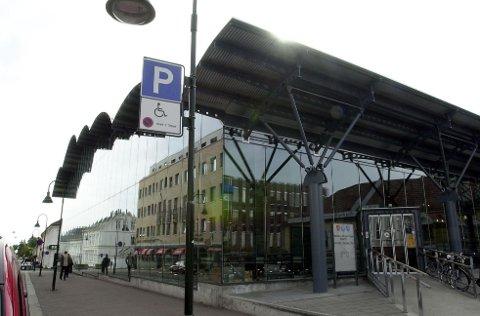 TYVERIFORSØK: Tidligere i sommer fikk biblioteket i Tønsberg besøk av en tyv. Allerede dagen etter ble vedkommende pågrepet.