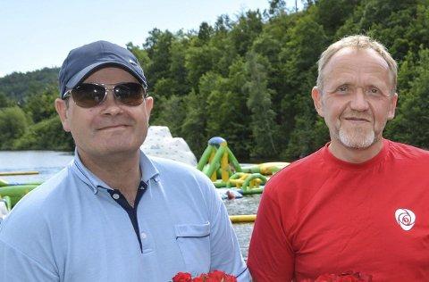 Ap: Hvor mange får Vidar Engh med seg inn i kommunestyret? Tore Ustad, tredjemann på Ap-lista, ser ut til å komme inn.