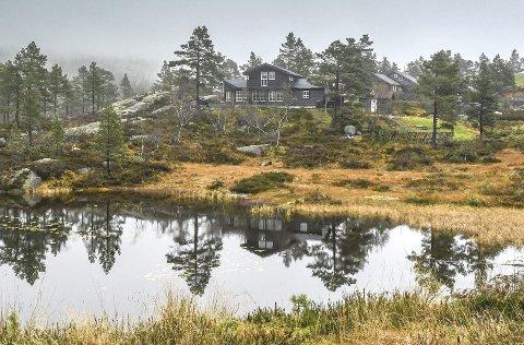Godt salg: Hittil i år har Gunnar Hillestad solgt sju hyttetomter på Hillestadheia. Nå legges det til rette for ni nye tomter. Arkivfoto