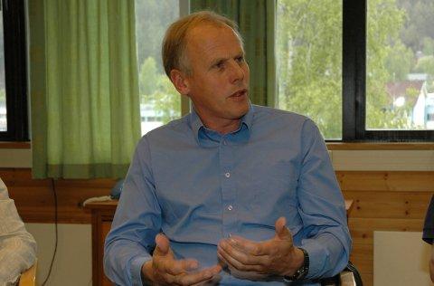 Har dialog: Ordførar Eivind Brenna avviser påstanden i ein klage om at det berre blir teke omsyn til grunneigarane i plansaker.