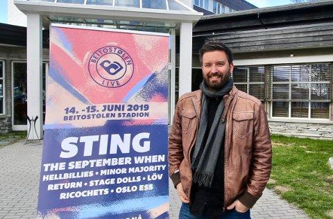 MÅ TENKE ALTERNATIVT: Grunnet pandemiens utfordringer blir Beitostølen Live helnorsk i 2021, opplyser festivalsjef Atle Dalen.