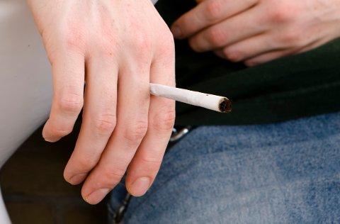 KJØRTEBIL IHASJRUS:Den 25 år gamle nittedalsmannen hadde røykt hasj forut for bilturen som endte med en dom i tingretten.
