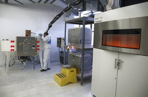 NY TEKNOLOGI: 3D-printing kan utfordre varehandelen i framtiden.