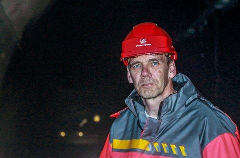 Tar tid: Avdelingsdirektør Nils Audun Karbø forsikrer at de tar sikkerheten på største alvor i alle tunneler, også i Frogntunnelen. Foto: Staale Reier Guttormsen