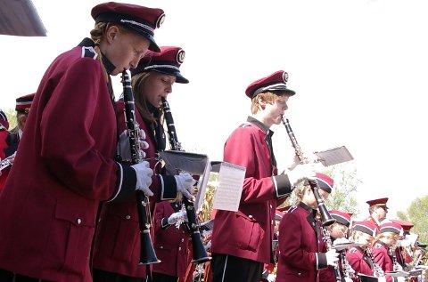 Vertskap: Tynset skolemusikkorps er vertskap for over 500 unge musikanter i helga. Arkivfoto: Tonje H . Løkken