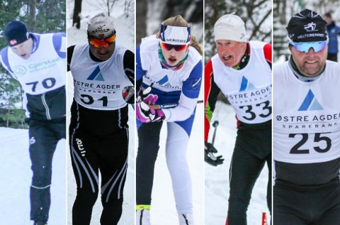 Fra venstre: Ånon Ausland, Bengt Otto Adeler, Kristina Fidje Gryting, Trond Årseth og Roar Øygarden.